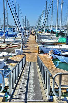 Photograph - Alamitos Bay Ca Marina by David Zanzinger
