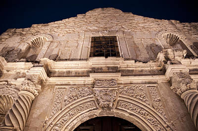 Photograph - Alamo Detail by Melany Sarafis