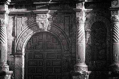 Photograph - Alamo Door by Joan Herwig