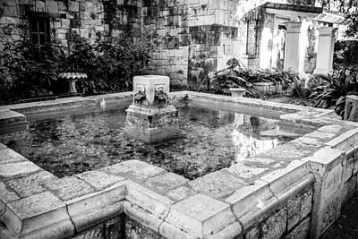 Photograph - Alamo Fountain by Melinda Ledsome