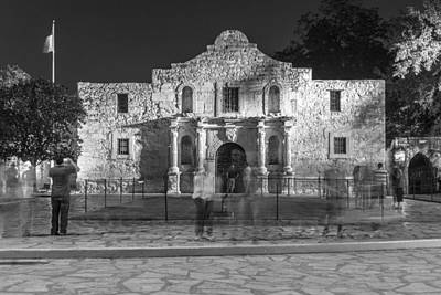 Photograph - Alamo In Texas  by John McGraw