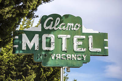 Photograph - Alamo Motel by Caitlyn  Grasso