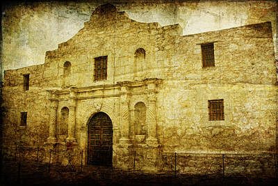 Photograph - Alamo Remembered by Lincoln Rogers