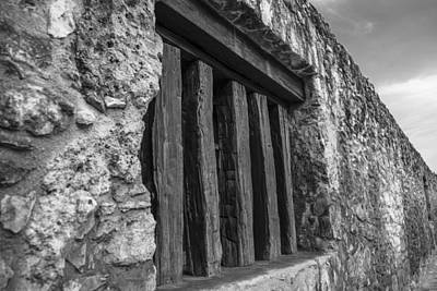 Photograph - Alamo Window by John McGraw
