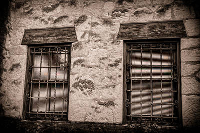 Photograph - Alamo Windows by Melinda Ledsome