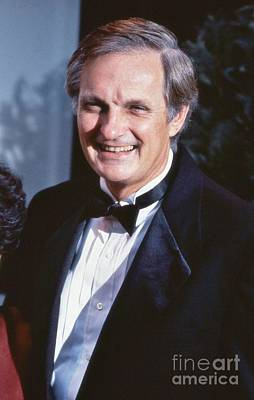 Photograph - Alan Alda by David Fowler