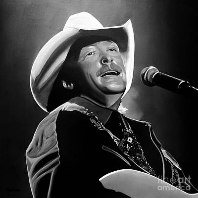 Performer Mixed Media - Alan Jackson by Meijering Manupix