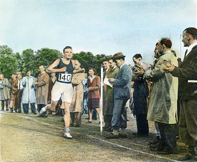 Footrace Photograph - Alan Mathison Turing (1912-1954) by Granger