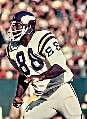 Painting - Alan Page by Florian Rodarte