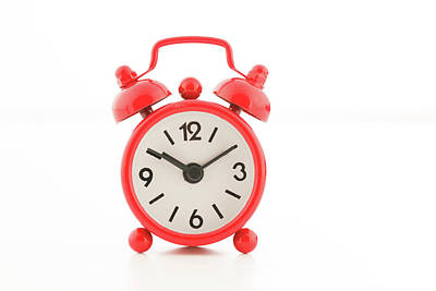 Alarm Clock Photograph - Alarm Clock by Wladimir Bulgar