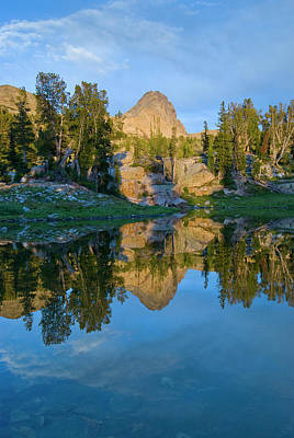 Alaska Basin Pothole Lake, Teton Art Print