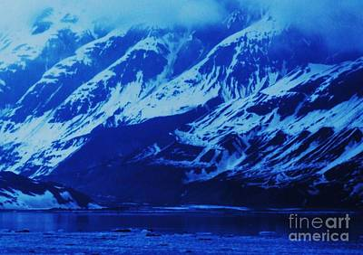 Alaska Blue Art Print by Marcus Dagan
