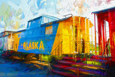 Photograph - Alaska by Carlos Diaz