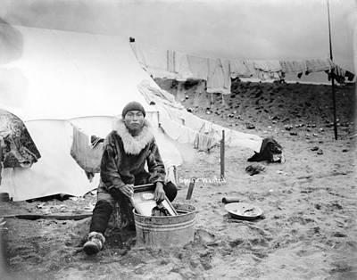 Photograph - Alaska Eskimo, C1906 by Granger