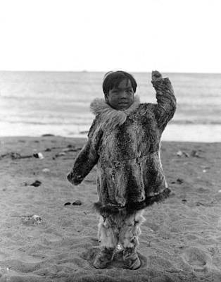 Photograph - Alaska Eskimo Child by Granger