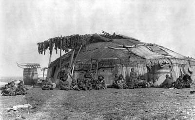 Photograph - Alaska Eskimos, C1897 by Granger