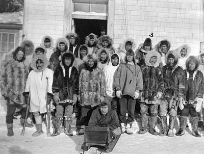 Photograph - Alaska Eskimos, C1916 by Granger
