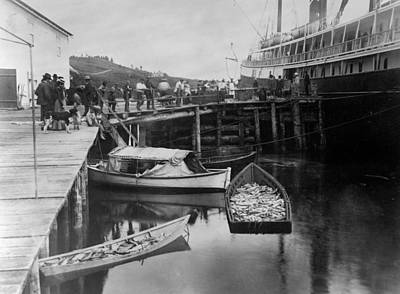 Photograph - Alaska Fishing Boat, 1889 by Granger