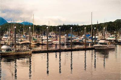 Photograph - Alaska Fishing Village by Bill Howard