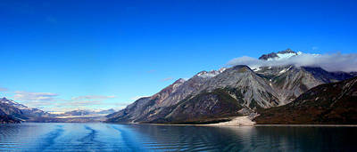 Alaska Glacier Bay From The Sea Original