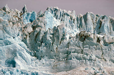 Craggy Photograph - Alaska Glaciers by Anonymous
