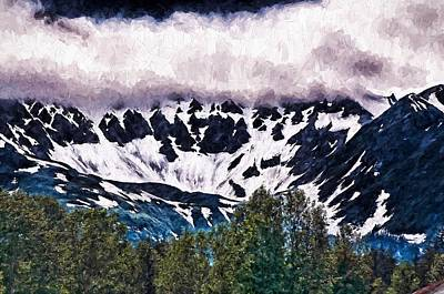 Photograph - Alaska In The Clouds by Bill Howard