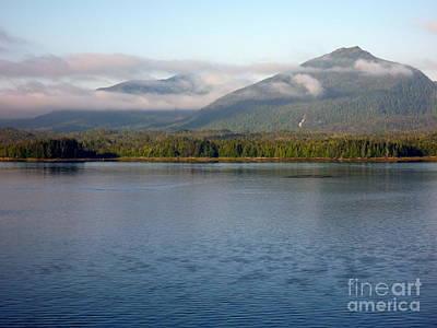 Photograph - Alaska Inside Passage by John Potts
