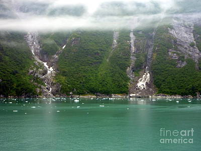 Photograph - Alaska Inside Passage Scene by John Potts