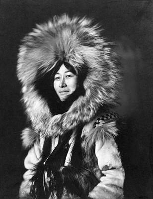 Photograph - Alaska Inuit Woman by Granger
