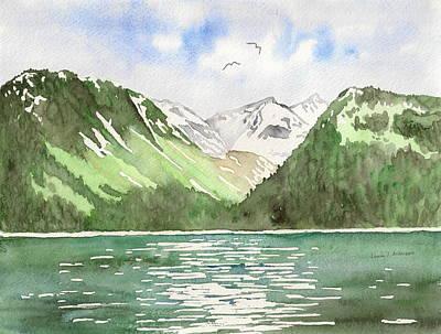 Alaska Kenai Fjords Art Print
