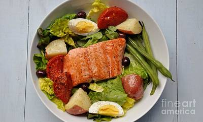 Photograph - Alaska King Salmon Salad by Maureen Cavanaugh Berry