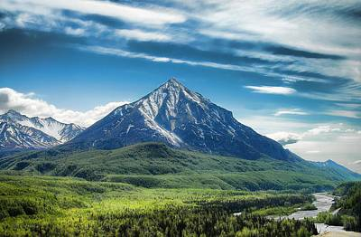 Photograph - Alaska Landscape by Dyle   Warren