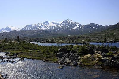 Photograph - Alaska Landscape by Gladys Turner Scheytt