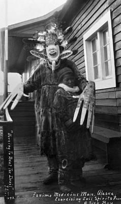 Photograph - Alaska Medicine Man by Granger