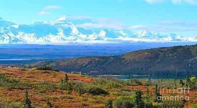 Thomas Kinkade - Alaska Range and Wonder Lake by Yinguo Huang