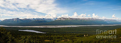 Alaska Range Art Print by Chris Heitstuman