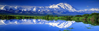 Alaska Range, Denali National Park Art Print by Panoramic Images