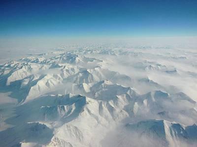 Snow-covered Landscape Photograph - Alaska Range by Nasa/goddard/christy Hansen