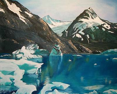 Painting - Alaska Reflections by Sharon Duguay