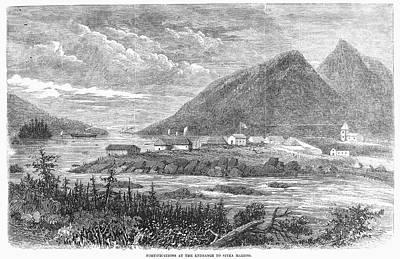 Sitka Painting - Alaska Sitka, 1867 by Granger