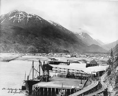 Alaska Skagway, C1912 Art Print by Granger