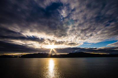 Photograph - Alaska Sunrise by Melinda Ledsome