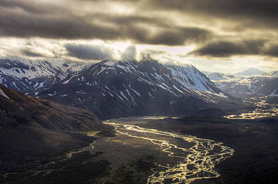 Photograph - Alaska Valley by Natasha Bishop