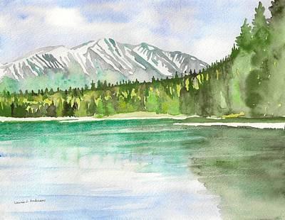 Alaska View Art Print