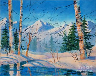 Alaska Winter Art Print