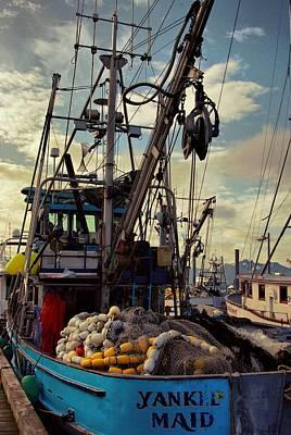 Alaska Yankee Maid Trawler Art Print