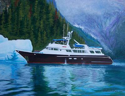 Alaskan Cruise Art Print