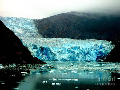 Photograph - Alaskan Glacier by John Potts