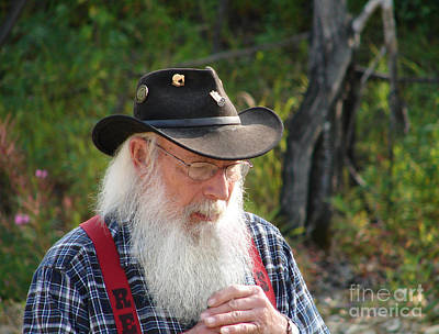 Photograph - Alaskan Miner by Lew Davis