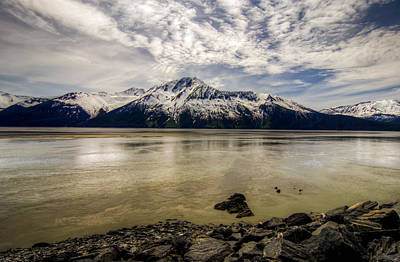 Photograph - Alaskan Mountain by Natasha Bishop